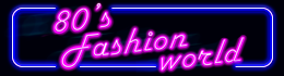80s Fashion World logo
