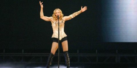 "Madonna at the opening night of Madonna's ""Reinvention Tour - 2004"" at The Forum, Inglewood, CA. 05-24-04"