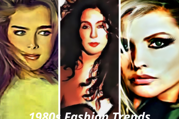 1980s celebrity fashion trend images