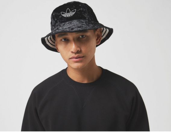 Photo by Size? (Adidas Velvet Bucket Hat)