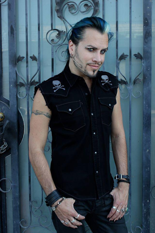 Photo by Shrine Store (Cowboy Sleeveless Shirt w/ grey skull and crossbones)