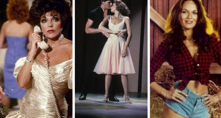 Joan Collins, Dirty Dancing and Duke Of Hazzards feature image collage